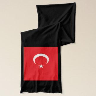 Écharpe de poids léger de drapeau de la Turquie
