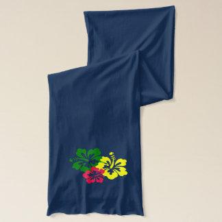 Écharpe Fleur hawaïenne