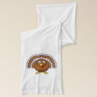 Écharpe mignonne de la Turquie de thanksgiving