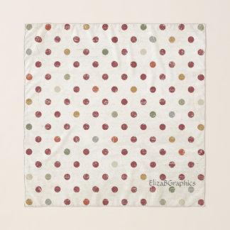 Écharpe multi de carré de mousseline de soie de