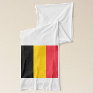 Écharpe patriotique avec le drapeau de la Belgique