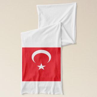 Écharpe patriotique avec le drapeau de la Turquie