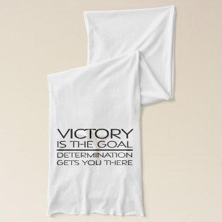 Écharpe Slogan SUPÉRIEUR de victoire de gymnastique