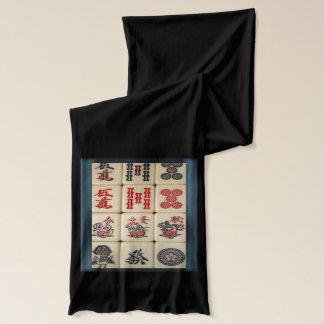 Écharpe Tuiles de Mahjong