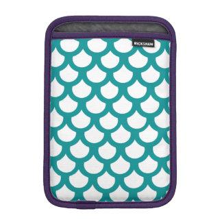 Échelle de poissons turquoise 1 housse pour iPad mini