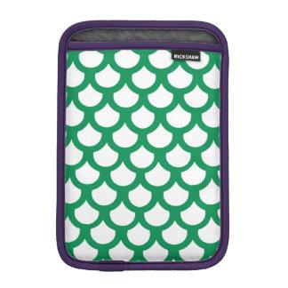 Échelle de poissons verte 1 housses pour iPad mini