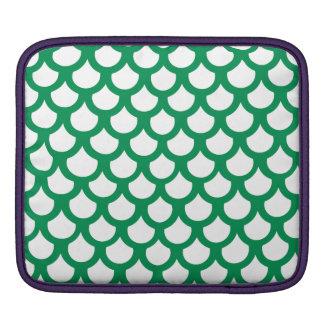 Échelle de poissons verte 1 poche iPad