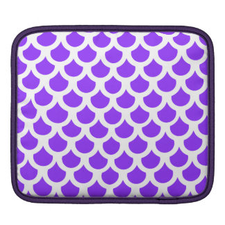 Échelle de poissons violette 2 poche iPad