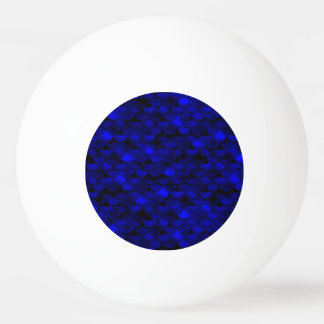 Échelles bleu-foncé de sirène de Falln Balle Tennis De Table