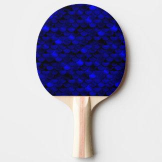 Échelles bleu-foncé de sirène de Falln Raquette Tennis De Table
