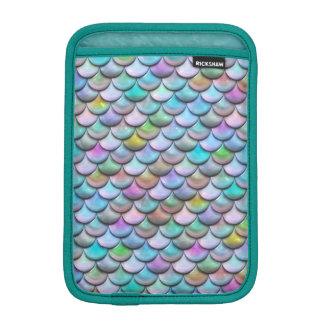 Échelles colorées perlées brillantes brillantes de housses iPad mini