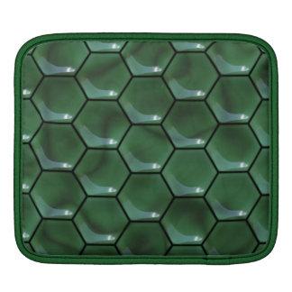 Échelles de lézard - vert poches pour iPad