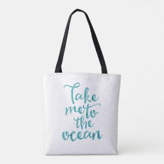 Échouez le sac fourre-tout | me portent à l'océan