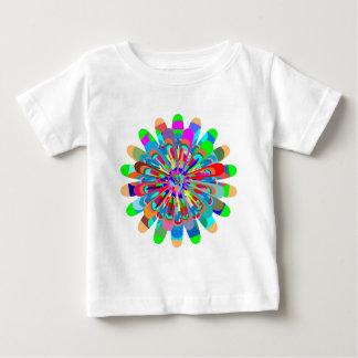 Éclaboussure de peinture de festival de printemps t-shirt pour bébé