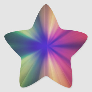 Éclair spectral sticker étoile