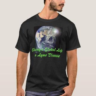 Éclat d'une lumière globale sur la maladie de Lyme T-shirt