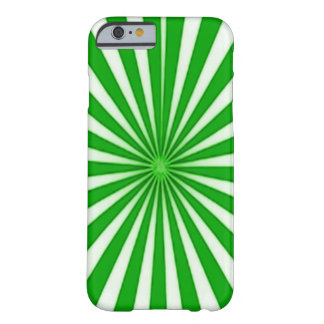 Éclat vert d'étoile de sucre de canne coque barely there iPhone 6
