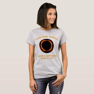 Éclipse solaire totale (Charleston, Caroline du T-shirt