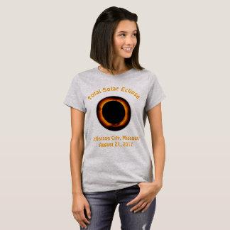 Éclipse solaire totale (jefferson city, Missouri) T-shirt