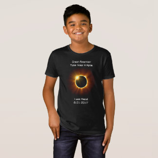 Éclipse solaire totale - T-shirt organique