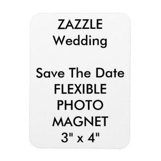Économies de coutume de mariage l'aimant de magnet en rectangle