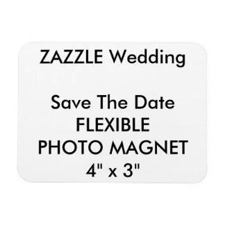 Économies de coutume de mariage l'aimant de magnets rectangulaires