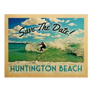 Économies de Huntington Beach le surf de la Carte Postale