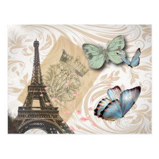 Économies de mariage de tour de Paris Effiel de Carte Postale