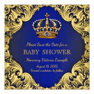 Économies de prince baby shower le magnet de carte