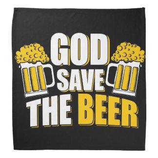 économies d'un dieu la bière bandana
