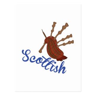 Écossais Carte Postale