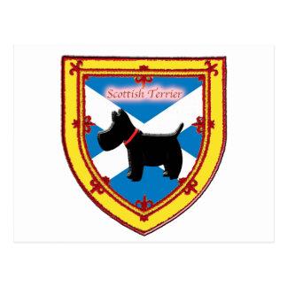 Écossais Terrier Carte Postale