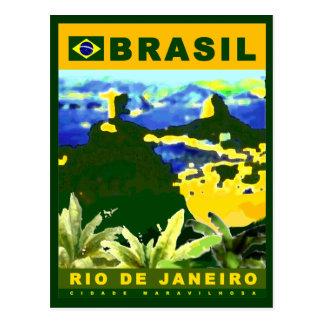 Écrivez au sujet de la ville de Rio de Janeiro Carte Postale