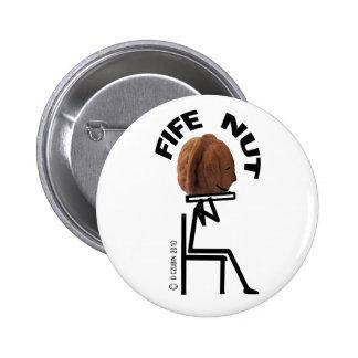 Écrou de fifre badge rond 5 cm