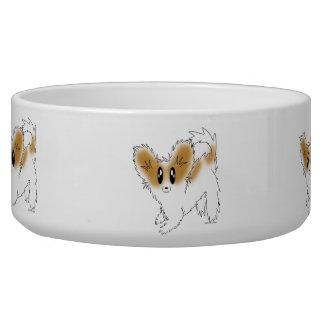 Écuelle Aliments pour chiens de Papillon de chiot ou cuvet