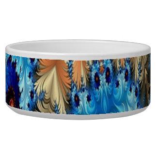 Écuelle Cuvette décorative multicolore d'animal familier
