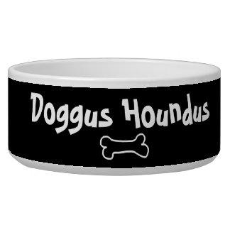 Écuelle Cuvette personnalisable de chien de Doggus Houndus