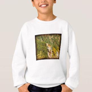 """Écureuil """"appréciant vue"""" sweatshirt"""