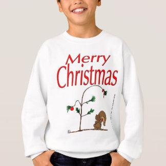 écureuil de Noël s14 et arbre de Noël humble Sweatshirt