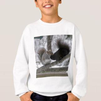 Écureuil noir sweatshirt