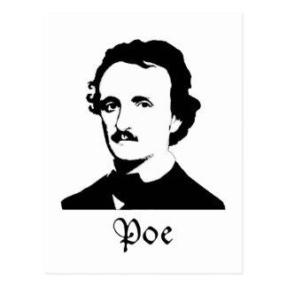 Edgar Allen Poe Carte Postale