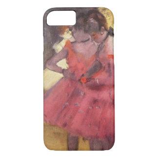 Edgar Degas le coque iphone rose de danseurs