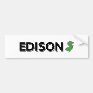 Edison, New Jersey Autocollant De Voiture