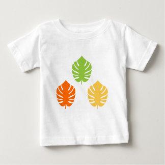 Édition exotique vintage extraordinaire de feuille t-shirt pour bébé