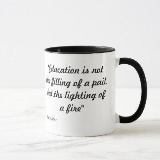 Éducation à la maison d'amour mug