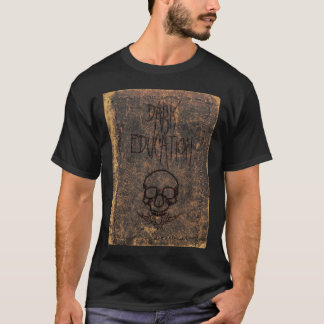 Éducation foncée t-shirt