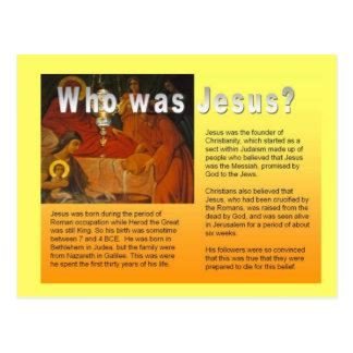Éducation, religion, christianisme, Jésus Carte Postale