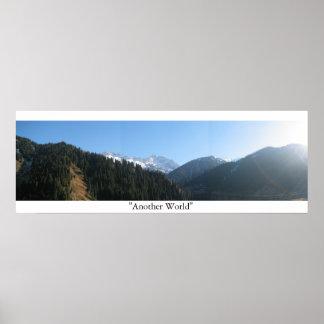 """""""Een andere Wereld """" Poster"""