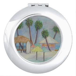 Een compacte Spiegel van de PLAATS van de ZOMER Make-up Spiegel