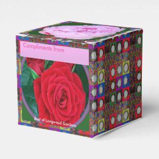 Een doos van de Gunst van RedROSE n PinkROSE Bedankdoosjes